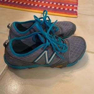 New Balance Minimus trail running shoe. 9.0.